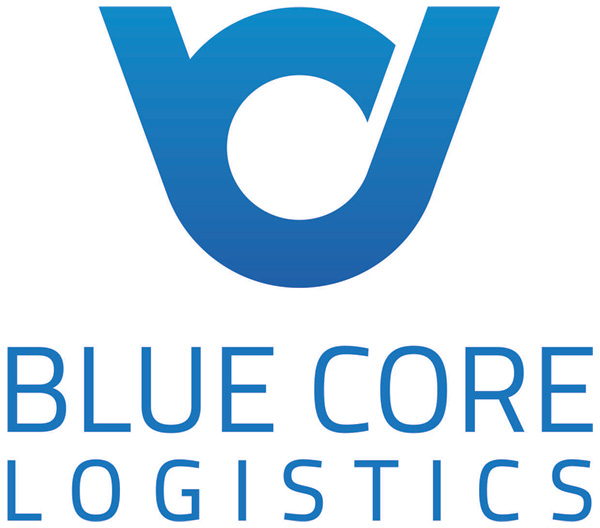 Blue Core Logistics Logo